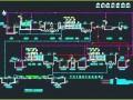 某拉链厂印染电镀废水工艺流程图