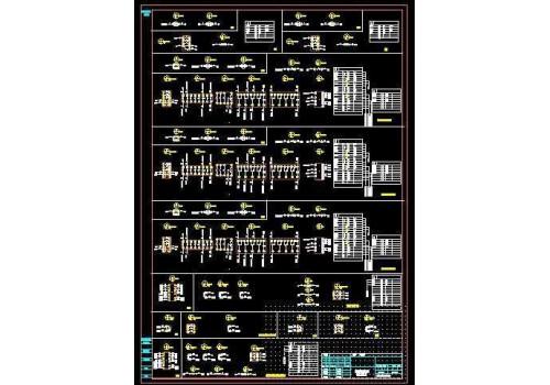 污水厂电气图纸