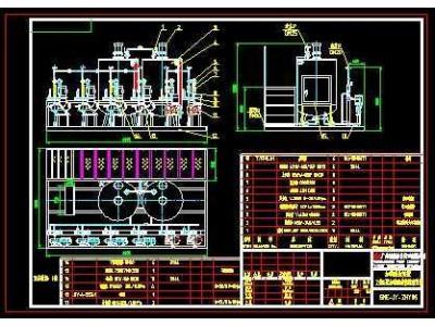 锅炉补给水各类加药装置加工制作图