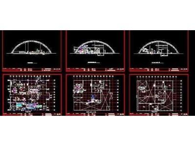 垃圾衍生燃料处理厂规划设计总套图