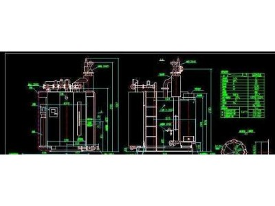 2T燃气锅炉图