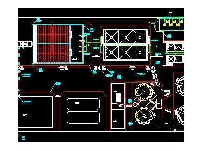 某印染厂污水处理工程设计图